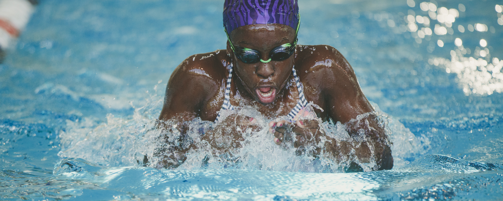 swimmer swimming breast stroke
